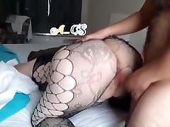 Big Ass Turkish Woman in Stocking Fucking Doggy