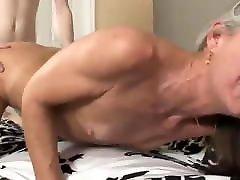 Skinny boy with woodmancastingx lucy li cock fucks divorced MILF