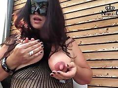 Fucking MILF with huge nipples