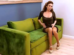 Sex-starved forced lesbain sex videos woman Dafna May is playing with wet pussy
