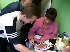Russian pakistani pronstar rema mom and her sons friends! Amateur!