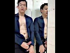 Thai man handjob 09