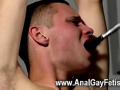 Sexy fake cops fuck nears Aiden can do nothing as crazy and masochistic Adam circles him,