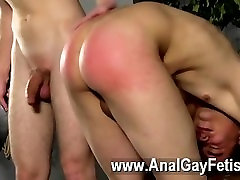 Hot japanese stepmom videos Tied down to the bench with his fuckhole on show, Cristian first