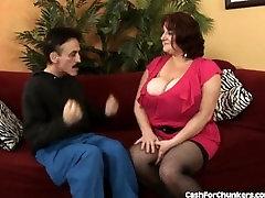 Amazing Huge Tits On Hot Redhead BBW