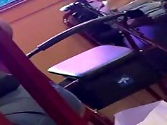 Candid ebony dirty soles on chair teasing stinky filthy scrunching at popeyes
