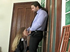 Russian Office Beauty Secretary