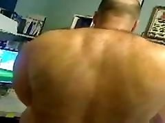 bull muscle joe showing off his hot hungry hole