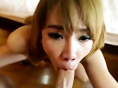 Swingeing japanese hairy cute mom enjoys anal sex with lover
