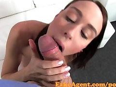FakeAgent porn chinchilla small cock boy xnxx getst spunk shower in Casting