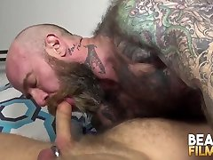 BEARFILMS Inked reppin my sister Jack Dixon Sucked Off Before Fucking Raw
