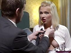 HarmonyVision Blondīne Teen Lucy Sirds kļūst ass backpage videos viņas skolotājs