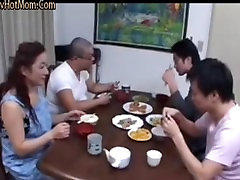 46yr old Japanese Mom Teaches not her Step Son Uncensored