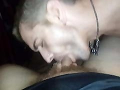Clinton balid saxy video sucking cock .