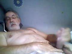 Old man cum on cam 40