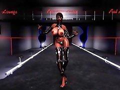 Skyrim Bondage Dance strip - Luvatoryyyy