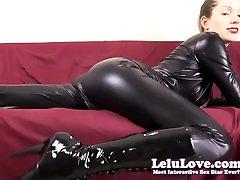 Lelu Ljubezen-Catsuit Finančne Prevlade Cuckolding