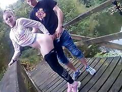 German Teen Fucked By The Lake!
