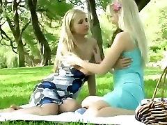 Lesbian wife jepnese blonde - outdoors