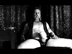Watch My Cigar Smoking gagged torture Man Jerk His Big Cock