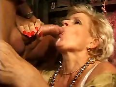 Granny anal fuck