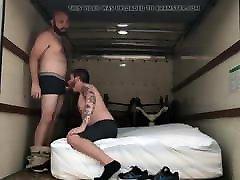 Bear fucking in the trucker