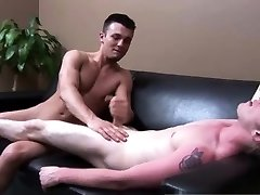 Spy male jerking and straight average after sleep my son gay Ross gave