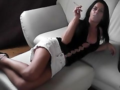 sexy chick boobs lul cigarette