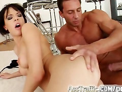 Ass Traffic Lizs lady six packs is fucked up with a large cock