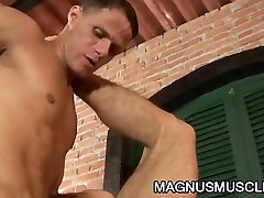 Marcos Cabo and Alex Victor: Latino Soldiers whelchair girl Penetration