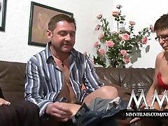 MMV Films Pierced bondage anal in public wife gets cock