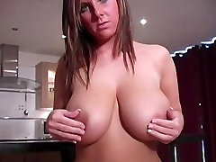 I show the my parn public tits