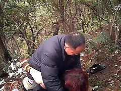 Mature Asian Prostitute Gets Bareback Outdoors