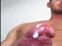Hot guy cums