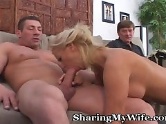 Mature monster cash Banged In Front Of Hubby