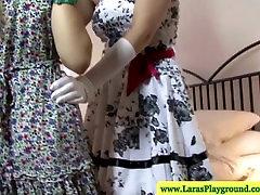 British ap sexy in stockings lesbian love