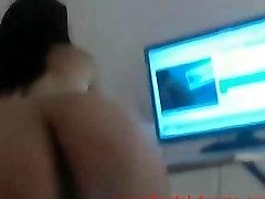 karštų jaunų latina erzina ir rodo visus ant kameros