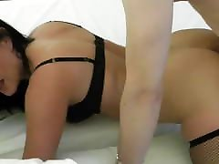 Fucking with a Horny Brunette Escort