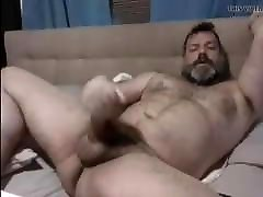MUSCLE dont stop after he cums WANKER