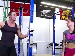 Hot Big xxx greampie Big Ass hardcore film aishwarya porn Fucked By Trainer In Gym