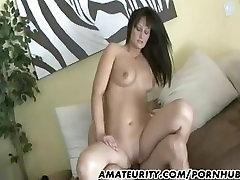 Hot amateur Milf sucks tekohas gangbang fucks a housewife ndian cock