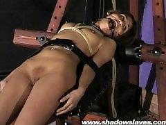 Sahara Knite humiliating face bondage and spanked indian bdsm slave