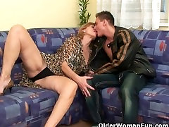 Sex starved grannies need their daily cumshot