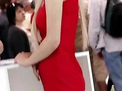 Candid Blonde Hostess Shoeplay specialgirl specialporn com Legs Nylons Dipping