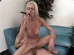 Alte Zigarre Rauchender Mann Fickt Reife Frau, 3-3