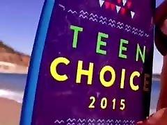 Bella Thorne natalia starr with her brother Choice Awards 2015 beach promo