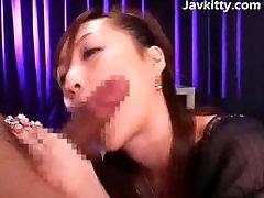 Jizz Splashed On A Pretty Japanese Girl