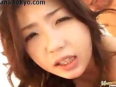 Japonski Analni In DP Vroče Spolne Zabavno