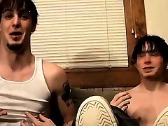 Young gay skinny feet porn and free of male Barefoot