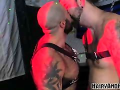 HAIRYANDRAW Atlas Grant Chained And Fucked Serving Daddy